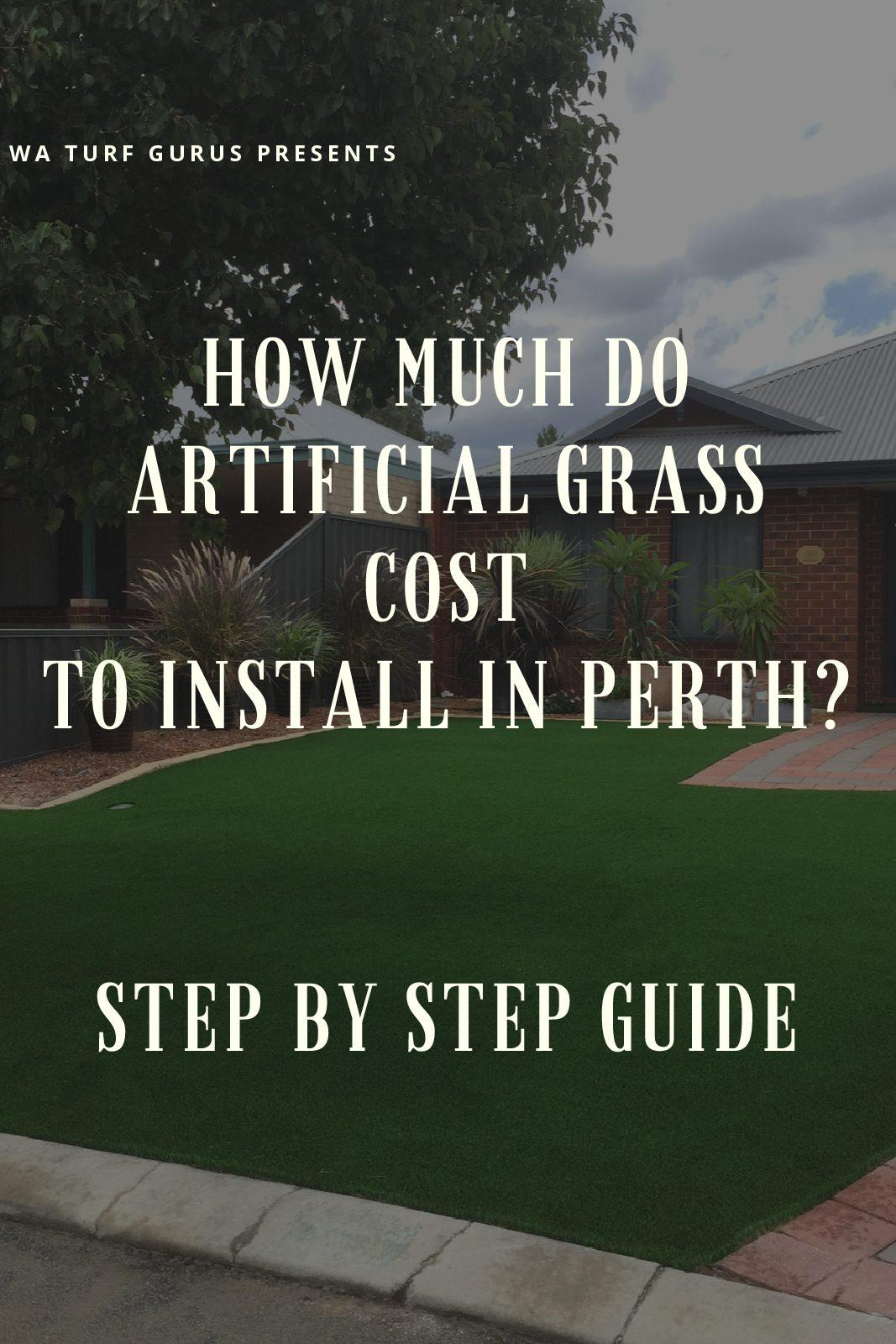 how much artificial grass cost Perth wa