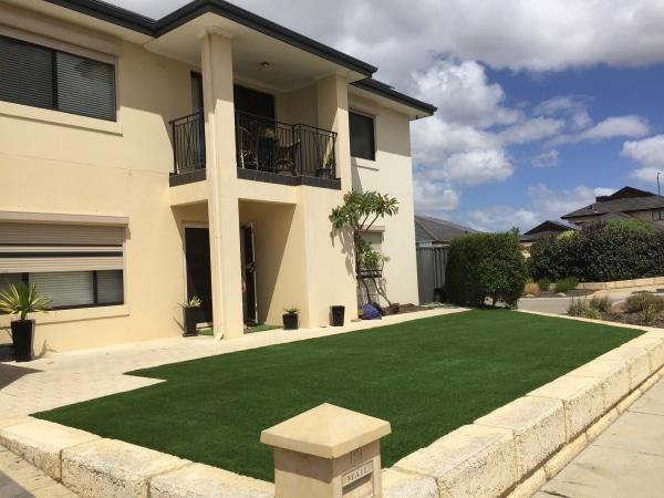 Commercial artificial grass reviews front yard Perth Wa