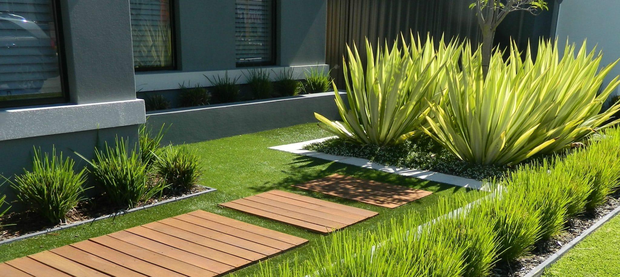 Artificial installation Grass in Hamersley
