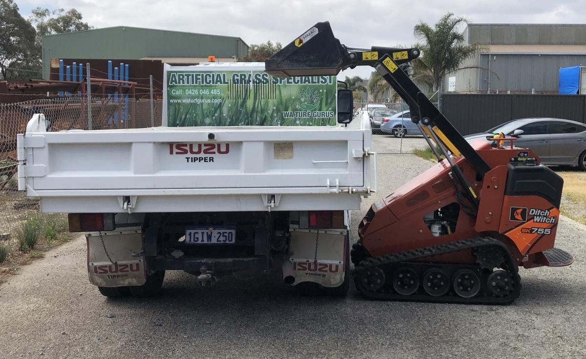 Full Grass removal and sand Removal Service Perth